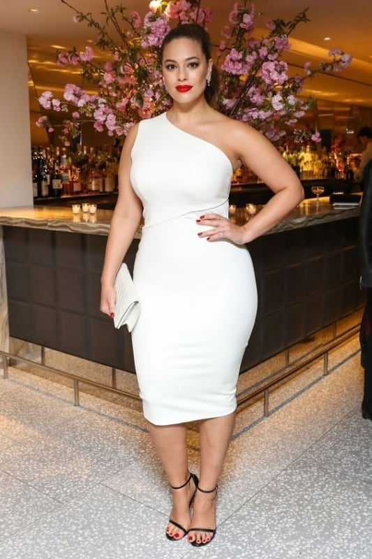 white dress plus size 57
