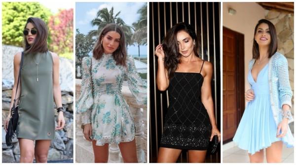 Modelos de vestidos curtos – 45 inspirações para criar looks lindos!
