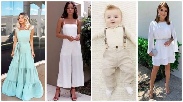 +41【LOOKS PARA BATIZADO】➞ Mães, bebês e madrinhas!