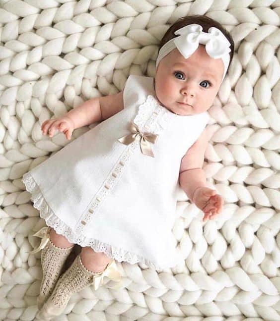 look para batizado de bebê menina