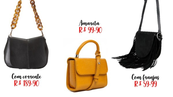 modelos e onde comprar bolsa da moda
