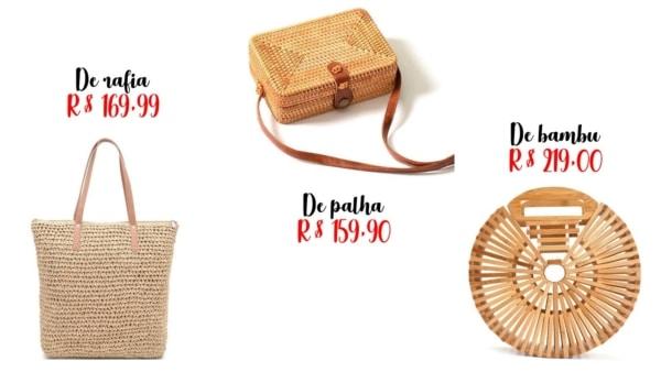 preços e modelos de bolsa da moda