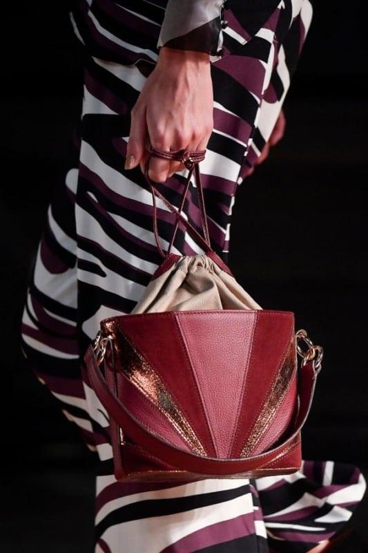 modelo de bolsa da moda para outono e inverno