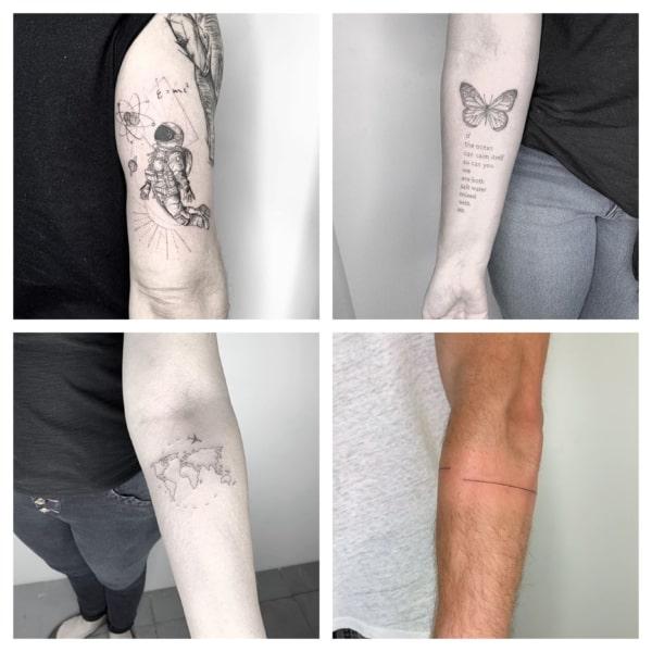 Tatuagem traço fino: +50 ideias INCRÍVEIS de fineline tattoo!