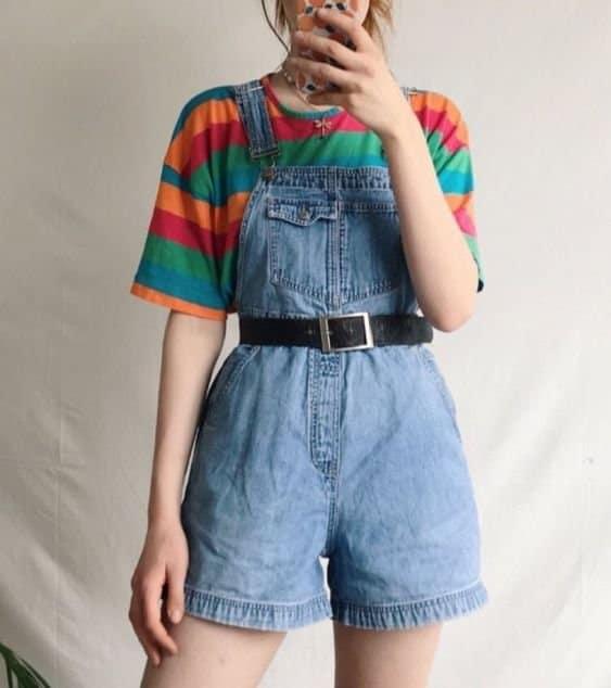 estilo retro macaquito jeans