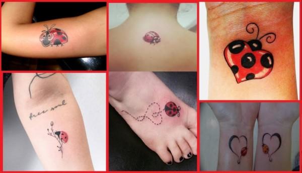 Tatuagem de Joaninha ➞ O que significa? + 30 ideias lindas!