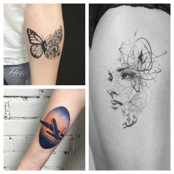 modelos de lindas tatuagens