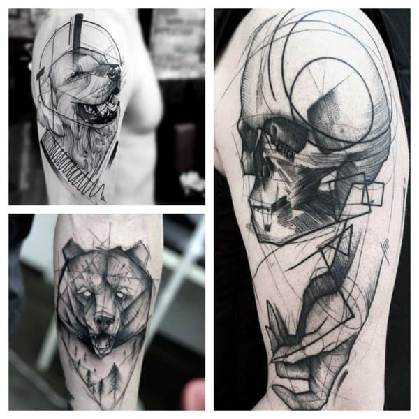sketch tattoo 1