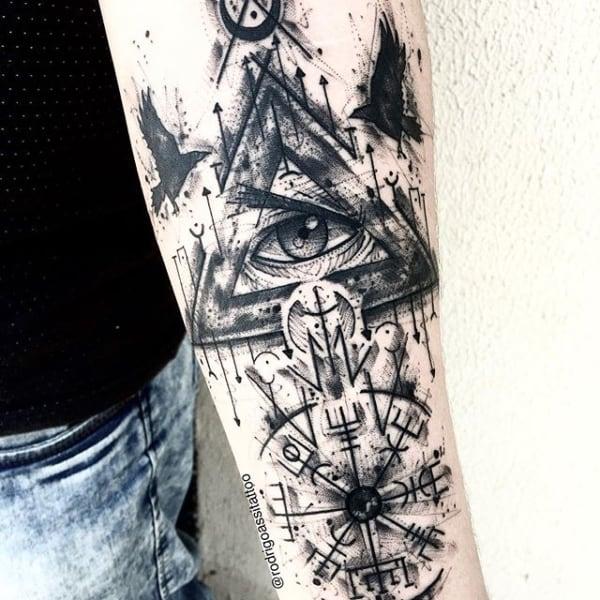 sketch tatuagem