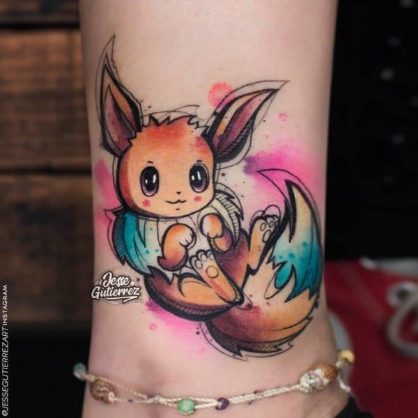 tattoo de pokemon