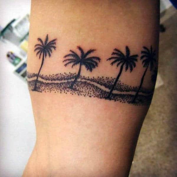 tatuagem de coqueiro como fazer