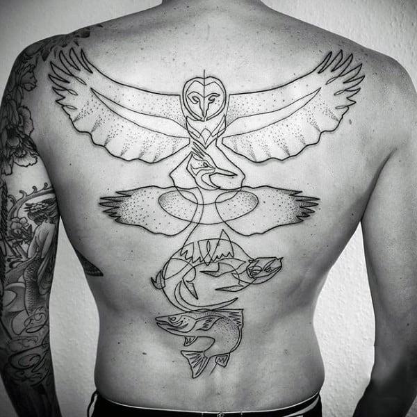 tatuagem fineline masculina grande