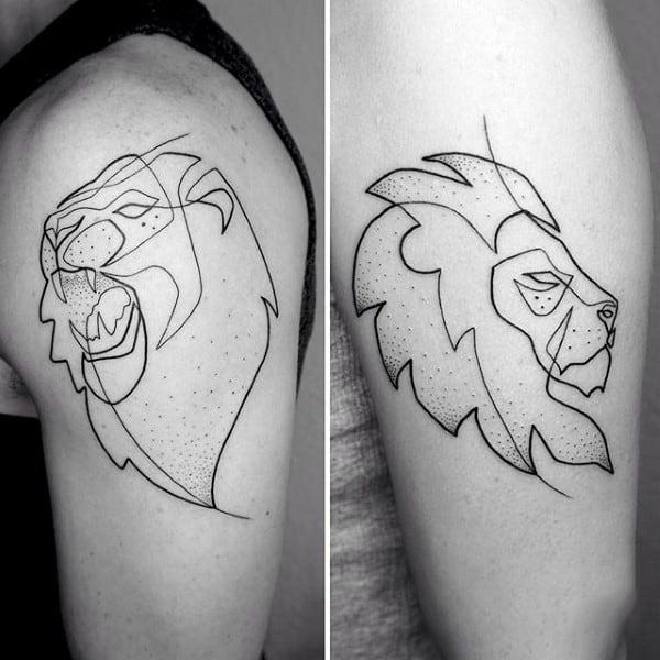 tatuagem fineline masculina le