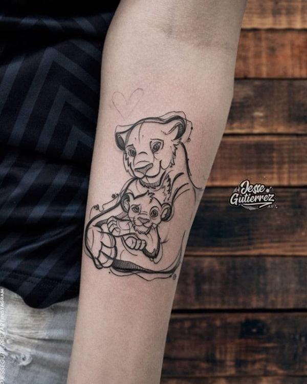 tatuagem sketch 1