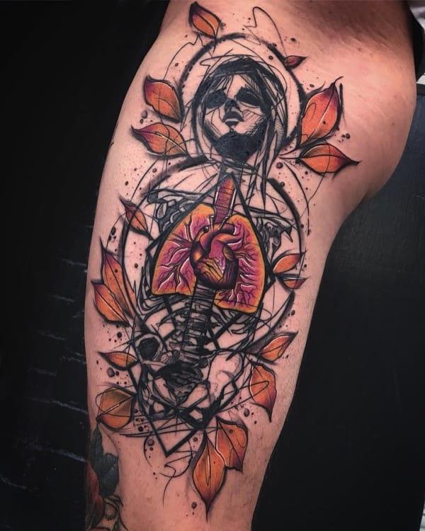 tatuagem sketch conceitual