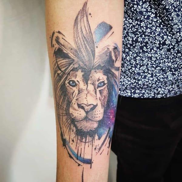 tatuagem sketch feminina