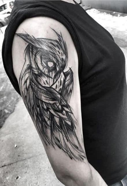 tatuagem sketch no braço 1