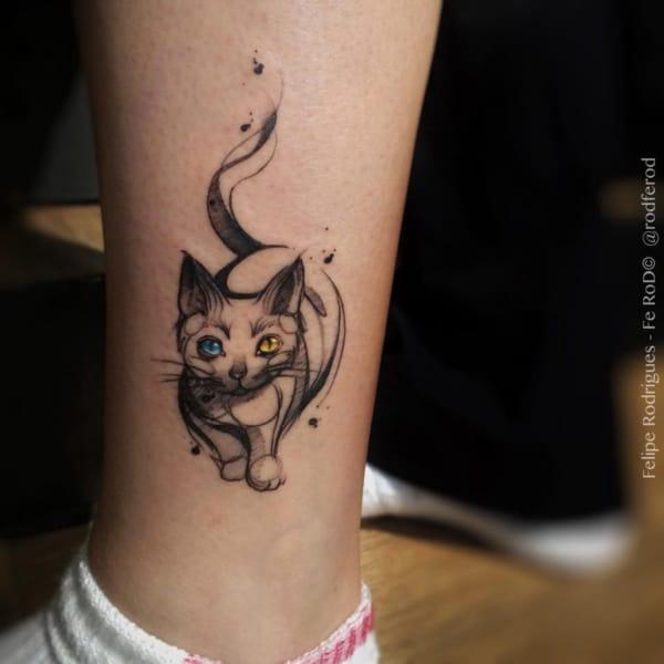 tatuagem sketch pequena