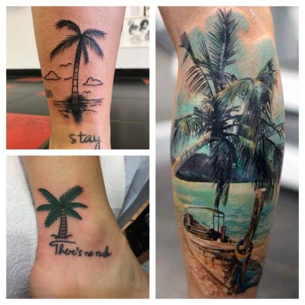 tatuagens de coqueiro