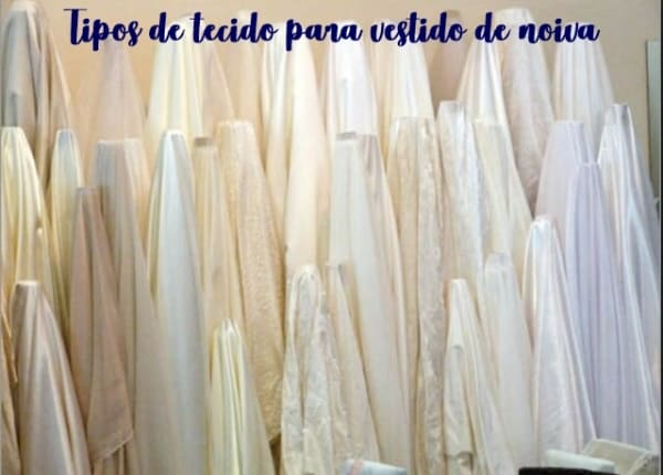 Tecido para vestido de noiva – 24 tipos lindos para escolher!