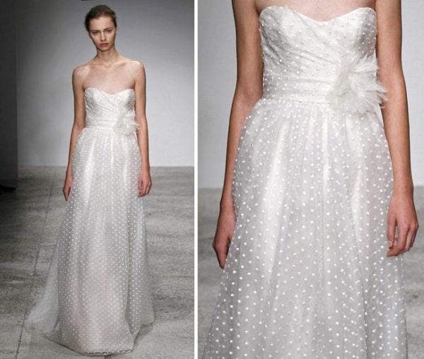 tipo de renda para vestido de noiva