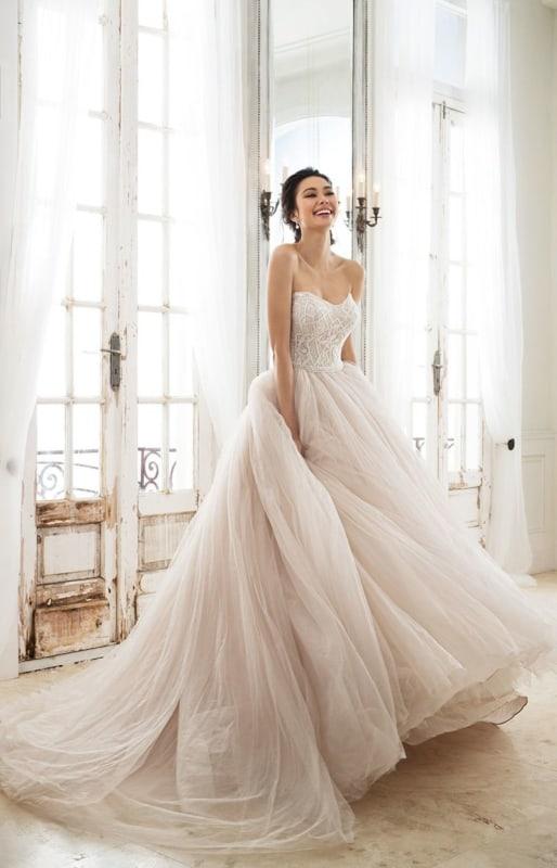 11 vestido de noiva rodado com saia de tule