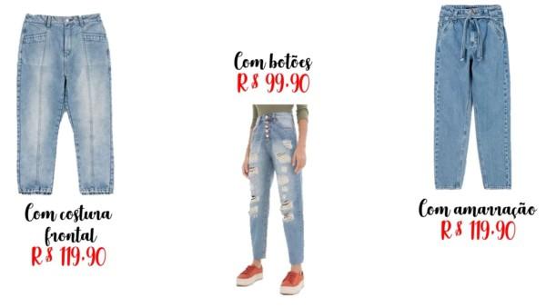 onde comprar calças mom jeans renner