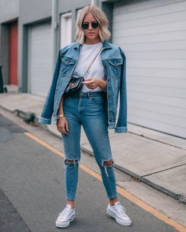 look com jaqueta e calça jeans 16 1