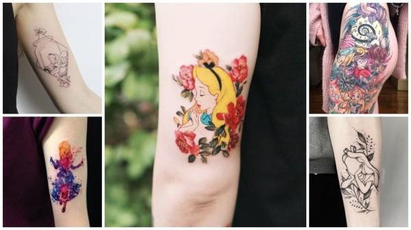 +52 tatuagens Alice no País das Maravilhas – Ideias Incríveis!