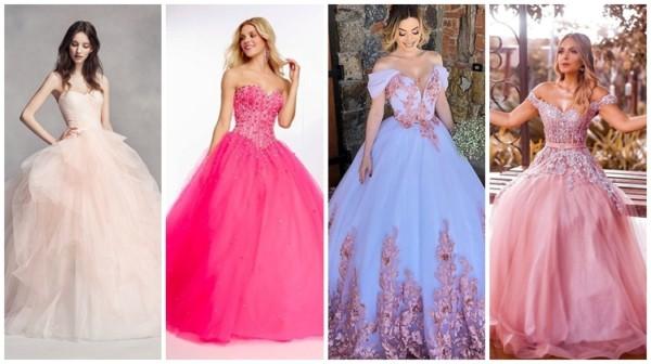 Vestido de noiva rosa – 52 modelos que vão te enlouquecer!