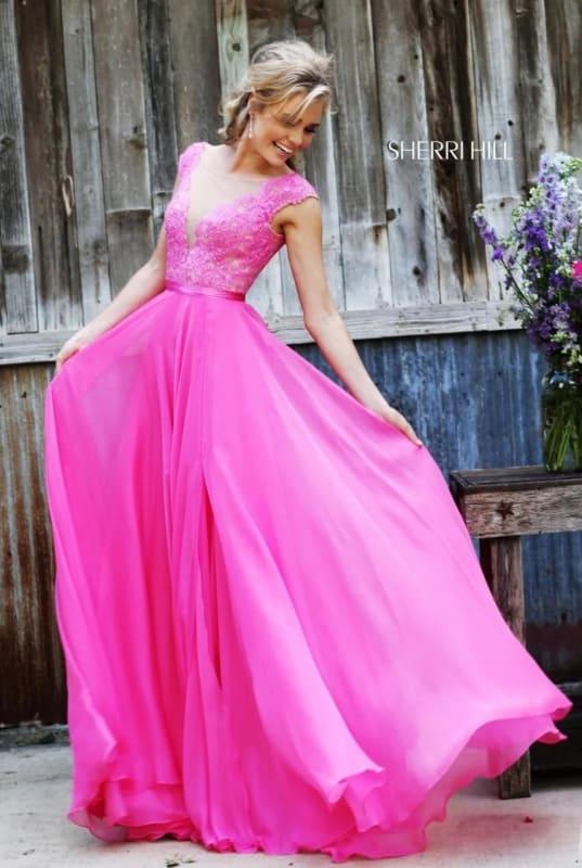 vestido de noiva pink com renda