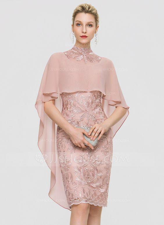 vestido de noiva curto rosa antigo