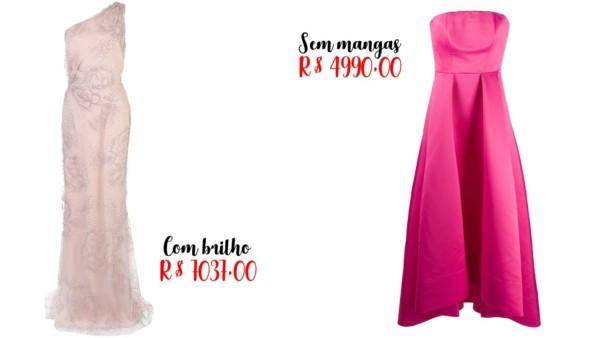 lojas para comprar vestido de noiva rosa
