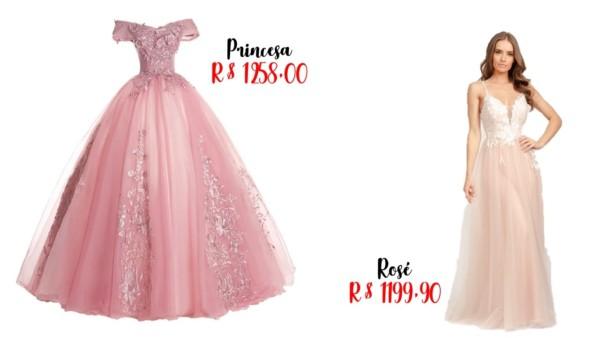 onde comprar vestido de noiva rosa