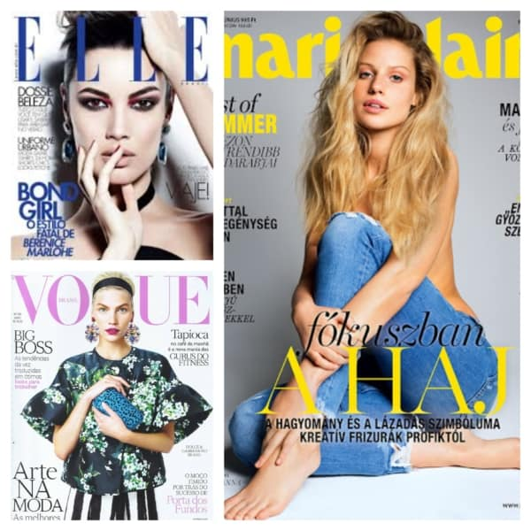modelos de Revistas de moda