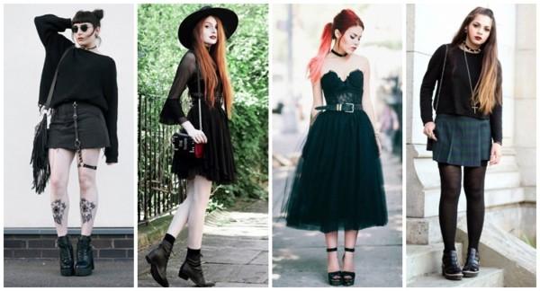 looks goticos