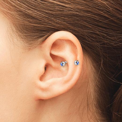 tipo de piercing na orelha
