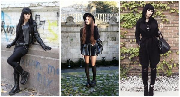 roupas goticas