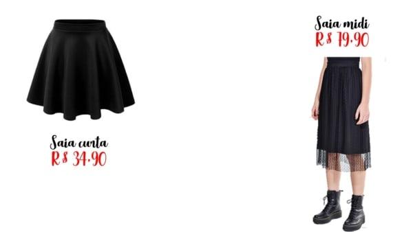 onde comprar saias goticas