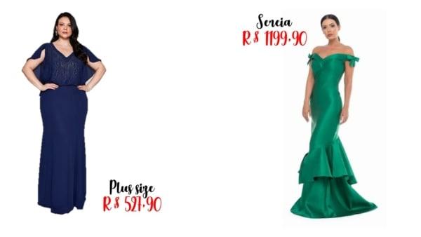 onde comprar e preços de vestidos de madrinha longo