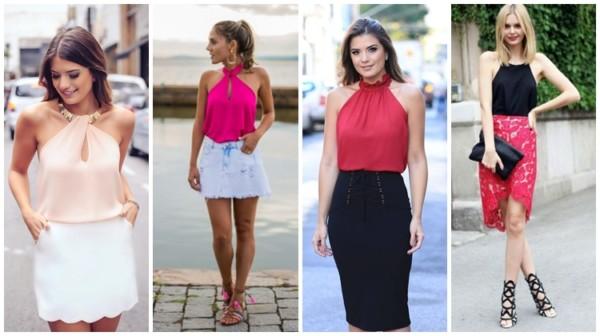 Blusa frente única – Como usar? +47 modelos e looks incríveis!