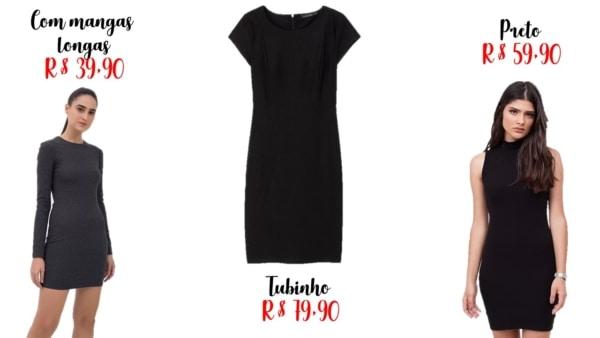 onde comprar e quanto custa vestidos basicos