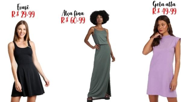 precos e modelos de vestidos basicos
