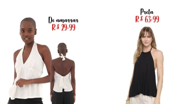 onde comprar blusa frente unica e precos