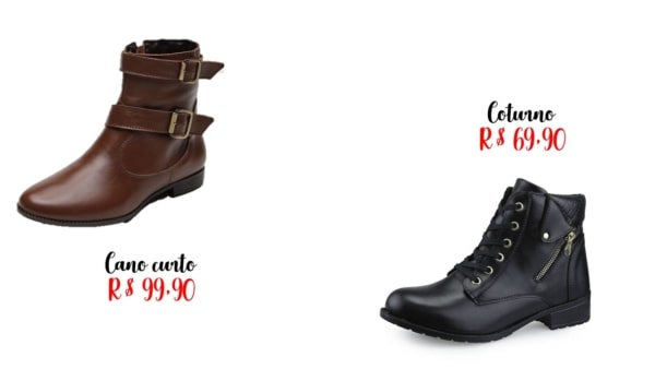onde comprar e precos de bota