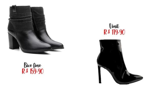 modelos e precos de botas