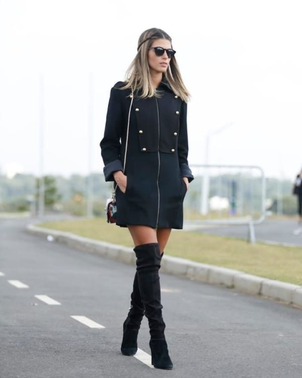looks com bota over the knee 26