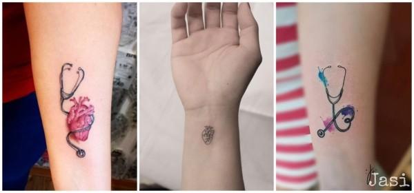tatuagem delicada medicina