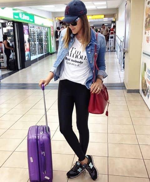 Look aeroporto simples