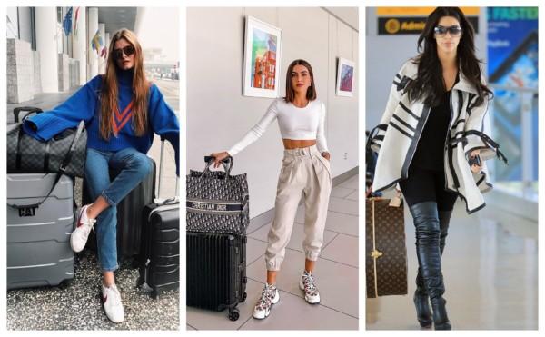 fotos de looks para aeroporto